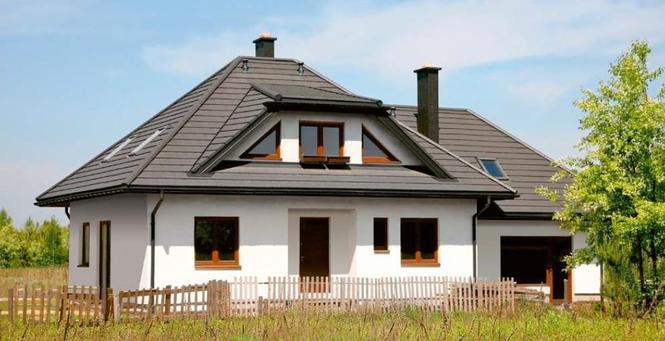 Projekt domu Dolina tęczy Murator M62c-wariant III
