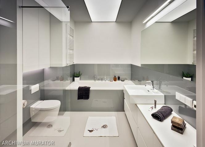 Łazienka łatwa do utrzymania w czystości