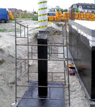 Tuba szalunkowa. Zbuduj betonowe słupy i kolumny w szybki sposób