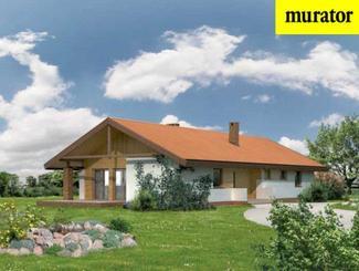 Duży dom na dużą działkę, czyli gdy chcesz zbudować dom parterowy...