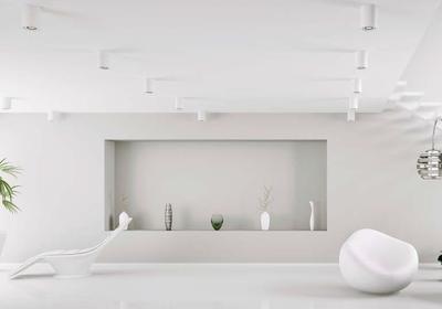 Wszystko na biało. Białe farby do ścian i sufitów