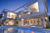 Duże okna i profile aluminiowe – rozwiązanie do imponujących rezydencji