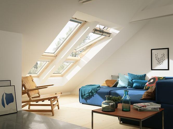 Odpowiednio dobrane okna dachowe zapewniają optymalne doświetlenie poddasza