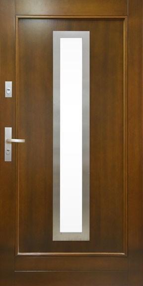 Drzwi wejściowe POL-SKONE Elegant Inox