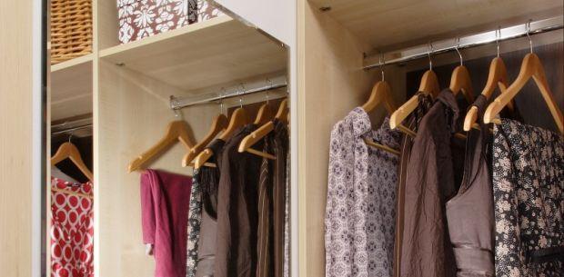 Domowy salon odzieżowy