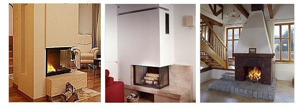 Ognisko w salonie - 3 pomysły na kominek